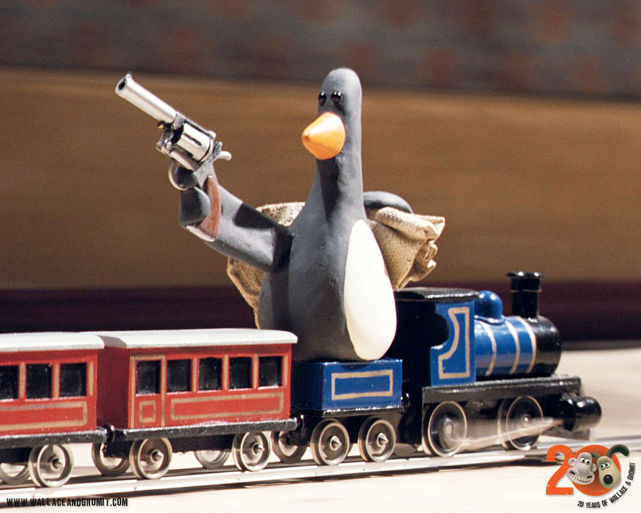 Evil penguin wallace and gromit - photo#13