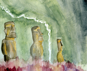 easter-island-joshshalek-watercolor