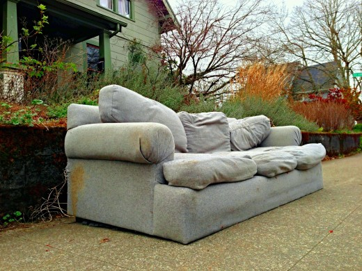 Discarded Couch of Portland 1