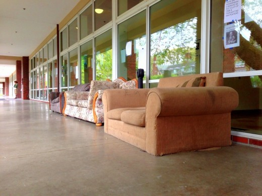 Row of couches