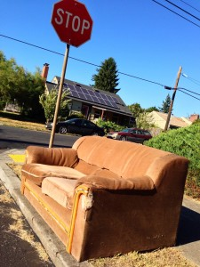 discarded couch 8-6-13