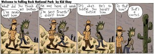 falling rock sundy funnies