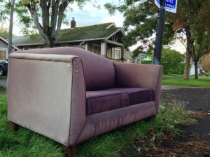 Discarded couch 10-9-13