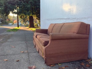 Discarded couch 10-16-13