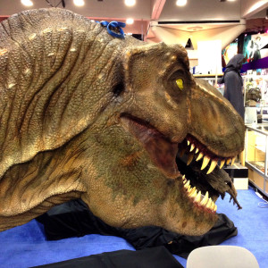 Stan Winston's T-Rex head from Jurassic Park.