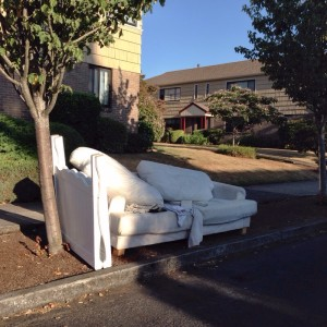 Discarded couch 8-27-14