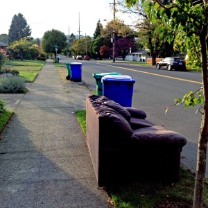 Discard couch 10-13-14