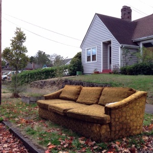 Discard couch 10-21-14