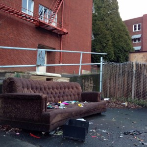 discarded couch 2-6-15 1