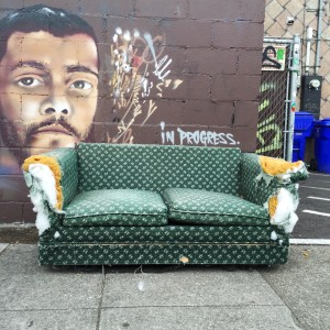 discard couch 10-10-15