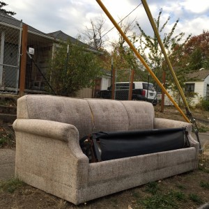 discard couch 10-9-15