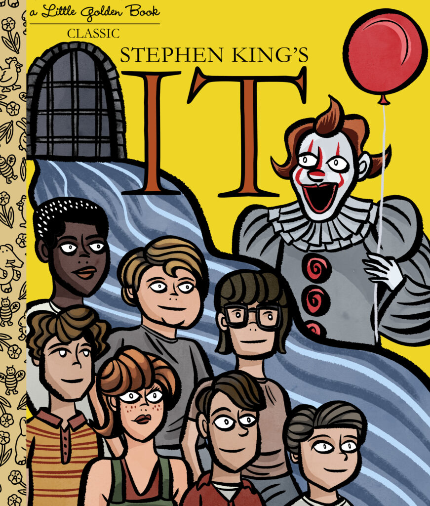 Little Golden Book Stephen King's IT